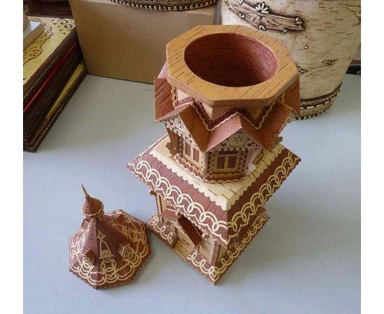 Башня из бересты, фото , изображение 6