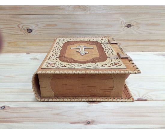 Футляр из бересты для библии + Книга, фото , изображение 2