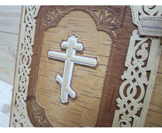 Футляр из бересты для библии + Книга, фото , изображение 12