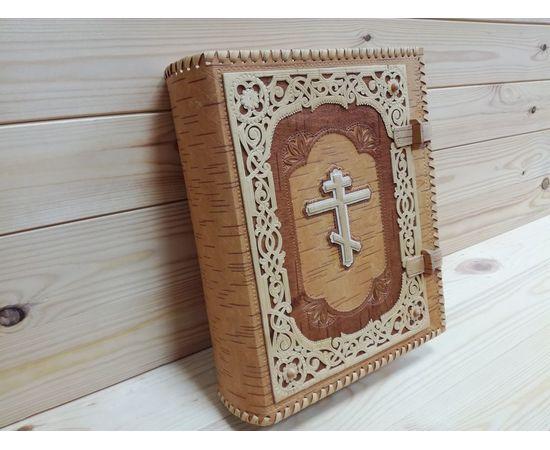 Футляр из бересты для библии + Книга, фото , изображение 9