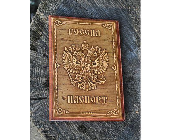 Обложка для паспорта из бересты, фото , изображение 2