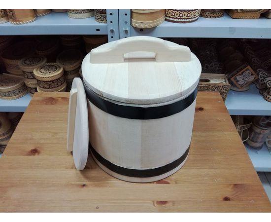 Кадушка деревянная для засолки 10 литров, фото , изображение 2