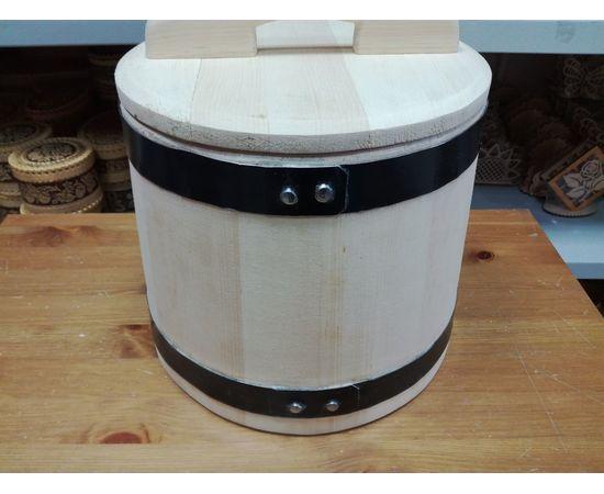 Кадушка деревянная для засолки 10 литров, фото , изображение 3