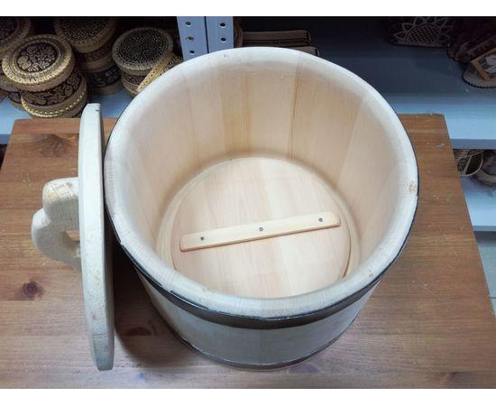 Кадушка деревянная для засолки 10 литров, фото , изображение 4