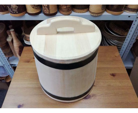 Кадка из кедра для засолки 20 литров, фото , изображение 2