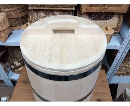 Кадка кедровая для солений 40 литров, фото , изображение 2