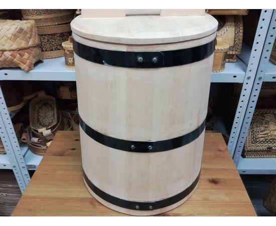 Кадка кедровая для солений 40 литров, фото , изображение 5