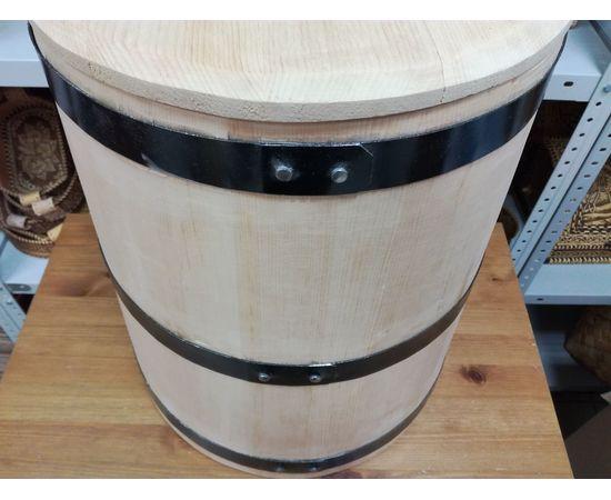 Кадка кедровая для солений 40 литров, фото , изображение 6