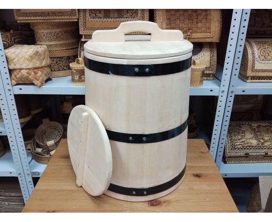 Кадка кедровая для солений 40 литров, фото , изображение 7
