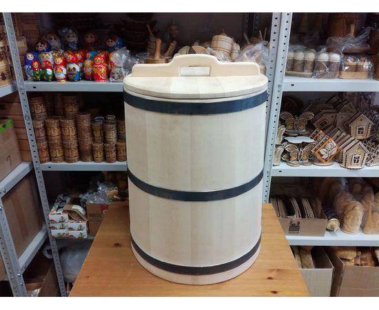 Кадка из кедра 50 литров, фото , изображение 2