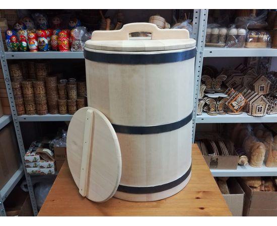 Кадка из кедра 50 литров, фото , изображение 7