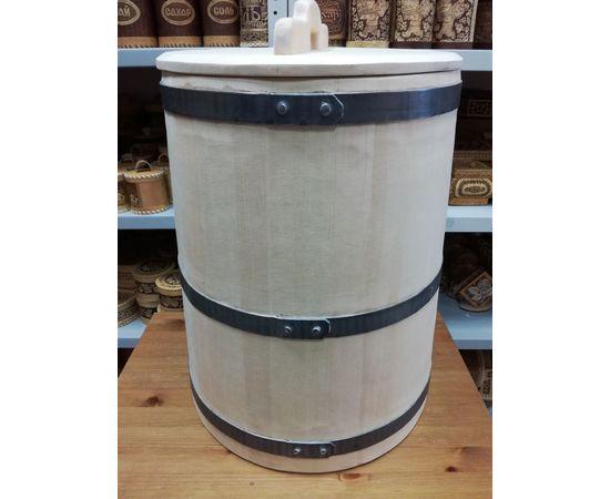 Кадка кедровая для засолки 60 литров, фото , изображение 2