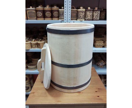 Кадка кедровая для засолки 60 литров, фото , изображение 4