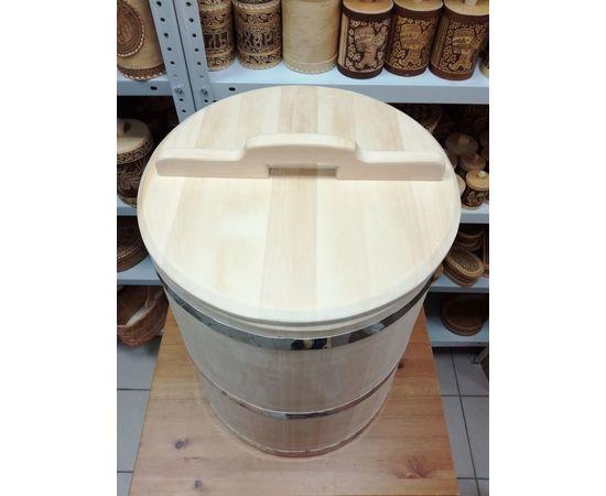 Бочка деревянная из кедра 75 литров. Бочка для воды, фото , изображение 3
