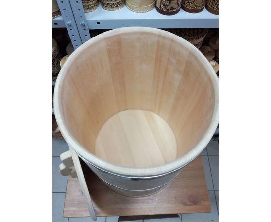 Бочка деревянная из кедра 75 литров. Бочка для воды, фото , изображение 4