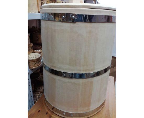 Бочка деревянная из кедра 75 литров. Бочка для воды, фото , изображение 6