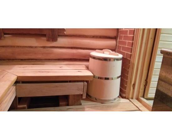 Бочка деревянная из кедра 75 литров. Бочка для воды, фото , изображение 8