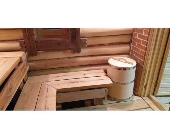 Бочка деревянная из кедра 75 литров. Бочка для воды, фото , изображение 9