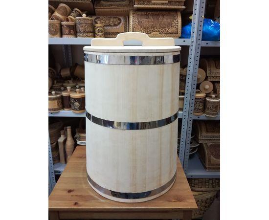 Бочка деревянная для воды 100 литров. Бочка для бани, фото