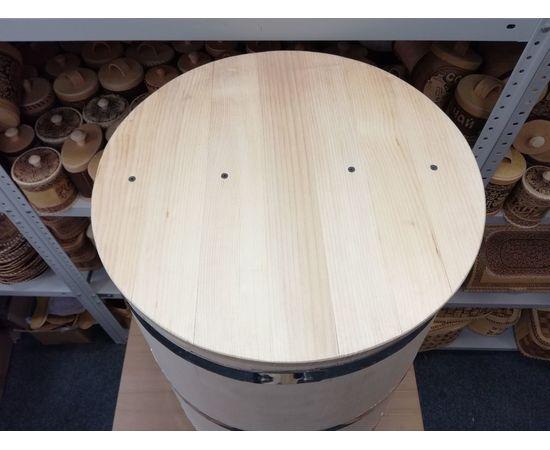 Бочка деревянная для воды 100 литров. Бочка для бани, фото , изображение 6