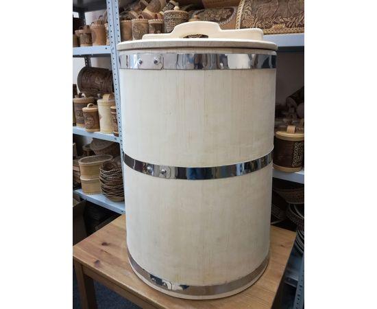 Бочка деревянная для воды 100 литров. Бочка для бани, фото , изображение 7