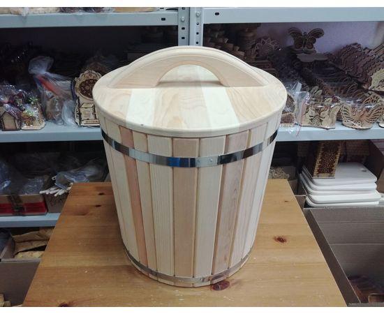 Кадушка деревянная для засолки 40 л, фото , изображение 2