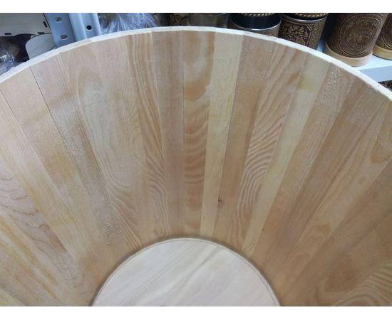 Кадка из кедра с гнетом и крышкой 60 л, фото , изображение 7