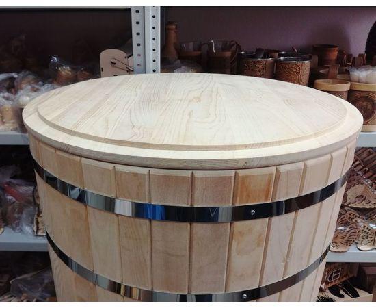 Кадка деревянная для засолки, для бани 100 л, фото , изображение 8