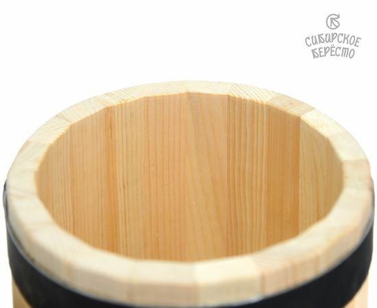 Кадка из кедра «Сибирская» 10 л, фото , изображение 7