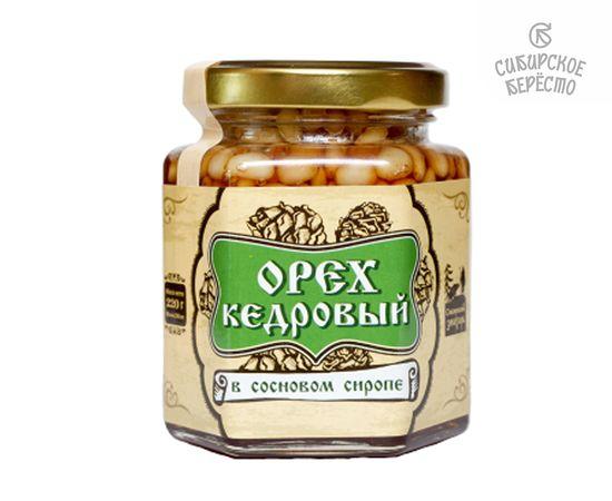 Кедровый орех в сосновом сиропе, 220 г, фото