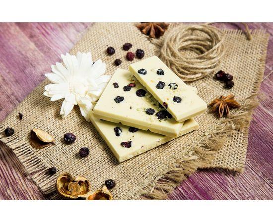 Белый шоколад «Конопля и голубика», фото