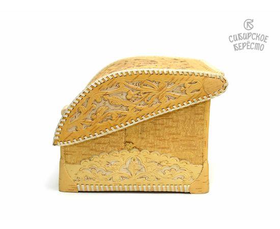 Хлебница из бересты Резная, фото , изображение 6