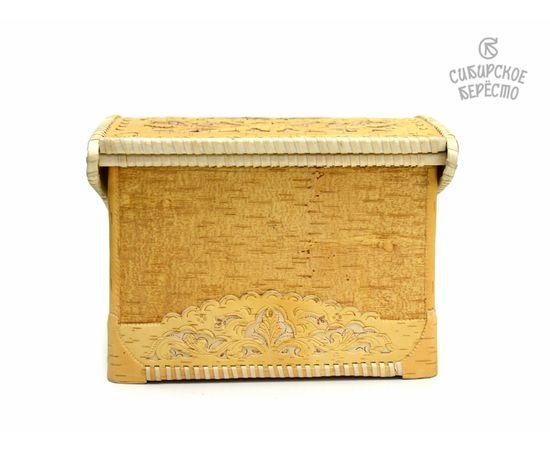 Хлебница из бересты Резная, фото , изображение 7