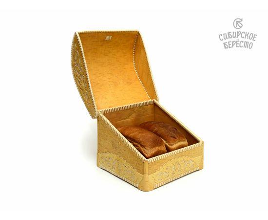 Хлебница из бересты Резная, фото , изображение 5