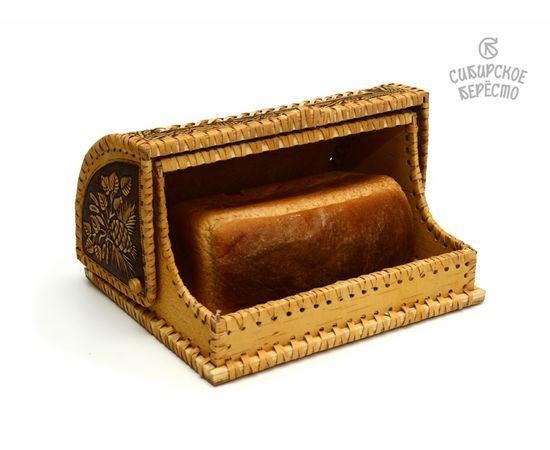 """Хлебница маленькая из бересты """"Белочки"""", фото , изображение 5"""