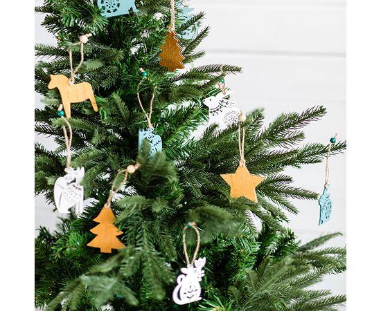 Набор игрушек из бересты и дерева, фото , изображение 2