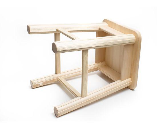 Табуретка деревянная высокая h44, фото , изображение 3