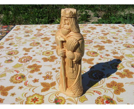 Статуэтка из кедра Кумир Даждьбога, фото , изображение 3