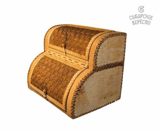 Хлебница двухэтажная из бересты, фото