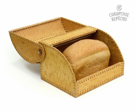 """Хлебница из бересты на 1 булку """"Подсолнух"""", фото , изображение 4"""