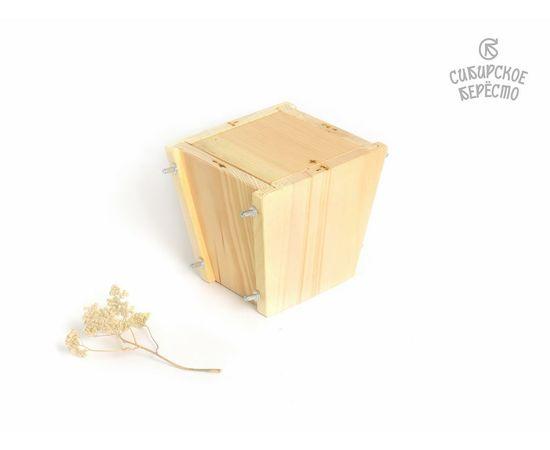 Пасочница деревянная, форма для творожной пасхи, фото
