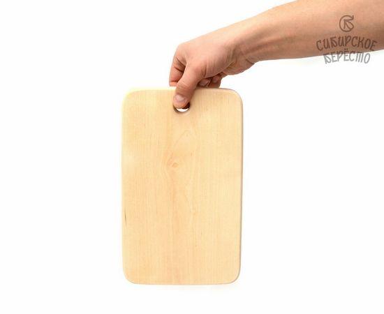 Доска деревянная разделочная большая 27х17, фото , изображение 4