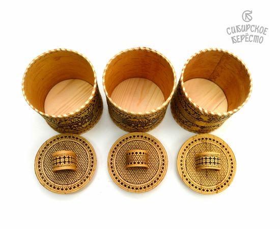 Набор туесов Рябина Salt Tea Sugar №2, фото , изображение 3