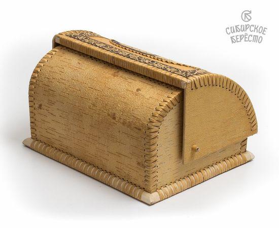 """Хлебница из бересты """"Самовар"""", фото , изображение 5"""