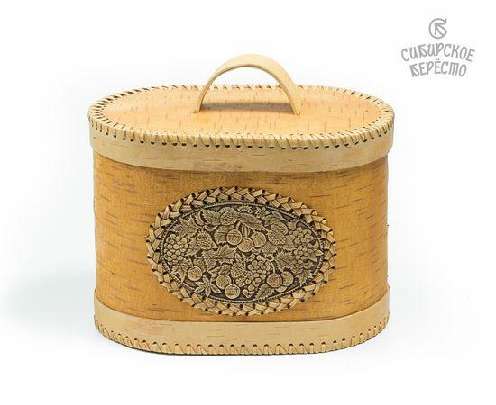 Хлебница из бересты «Ягодки», фото
