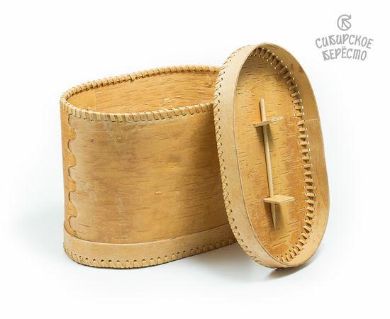 Хлебница из бересты «Ягодки», фото , изображение 3