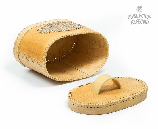 Хлебница из бересты «Ягодки», фото , изображение 4
