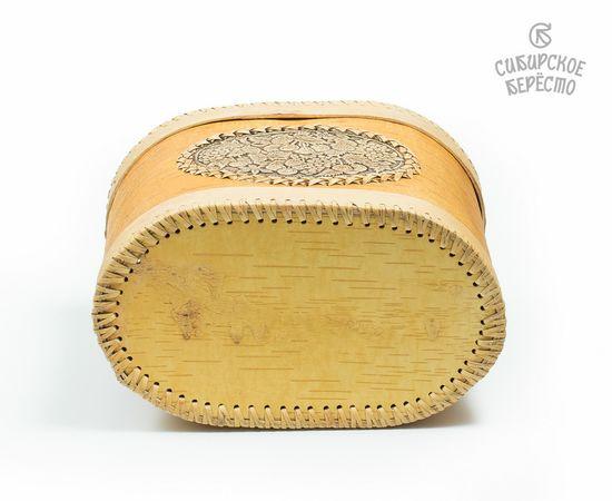 Хлебница из бересты «Ягодки», фото , изображение 5