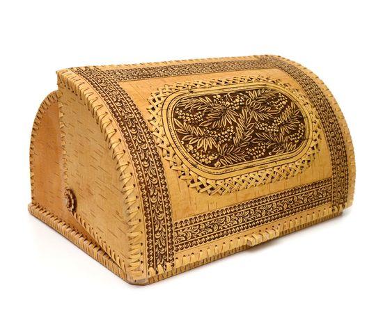 """Хлебница из бересты большая """"Рябина"""", фото , изображение 2"""