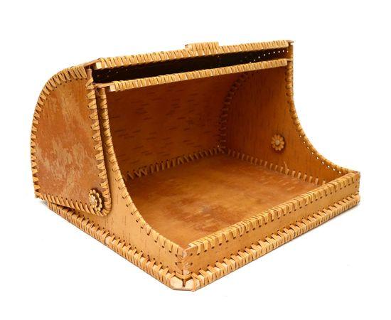 """Хлебница из бересты большая """"Рябина"""", фото , изображение 3"""
